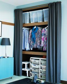 offener kleiderschrank mit vorhang vorh nge pinterest kleiderschrank mit vorhang offener. Black Bedroom Furniture Sets. Home Design Ideas