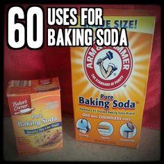 60 Uses for Baking Soda