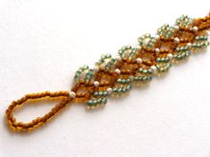 Russian Chevron Chain From Beading Daily.  ~ Seed Bead Tutorials