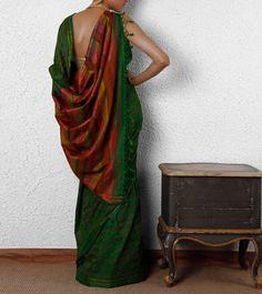 Green #Ethnic #Saree