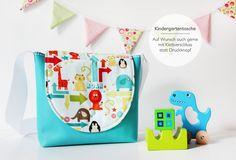 Kindergartentasche mit Zootieren