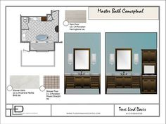 Photo: Master Bath Conceptuals #JobInProgress #MinutesMatter