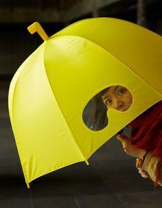 Peek-A-Boo Umbrella