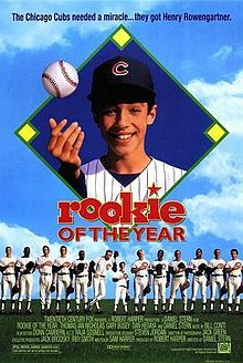 #22 - Rookie of the Year. Right up there with The Sandlot for baseball classics!