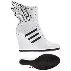 Jeremy Scott Wings Wedge Hi Shoes - www.lojasdobraz.com.br