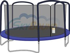 JumpKing Trampoline Safety Enclosure Net for Bazoongi SAMS Club, Jumpking Trampoline, Trampolines, Screen Enclosures, Outdoor Toys, Frame Sizes, Instagram, Ebay, Arches