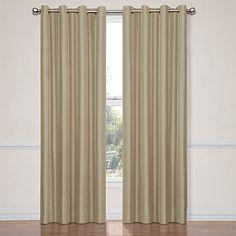 Insola Hailey 84-Inch Blackout Window Curtain Panel in Mushroom Silver