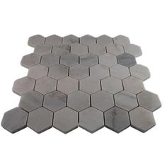 Splashback Tile Oriental Hexagon 12 in. x 12 in. x 8 mm Marble Floor and Wall Tile-ORIENTAL HEXAGON MARBLE TILE at The Home Depot
