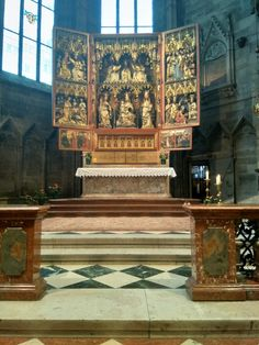 St Stephan, Altar, Kirchen, Public Domain, Saints, Middle Ages