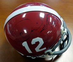 Derrick Thomas Autographed Alabama Mini Helmet PSA DNA 64cbfc9f8