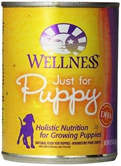 WELLNESS DOG FOOD JUST FOR PUPPY, 12.5 OZ * Insider's special review you can't miss. Read more  : Dog food brands