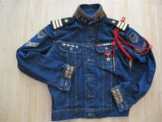 U.S. Special Force Military General 4 Stars Lee Jacket Jean x Baby $kin (Part. II)