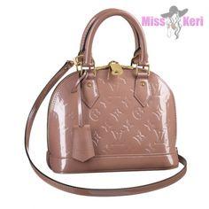 Брендовые женские сумки : Сумка Louis Vuitton Alma BB Rose Velours