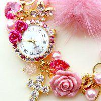 Delicate Flower Watch