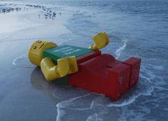 un lego géant en Floride