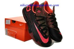 new product 37dc3 e5e47 Meteorology Cheap Nike KD VI 6 Shoes For Sale Black Atomic Red Medium Olive  Fire Red