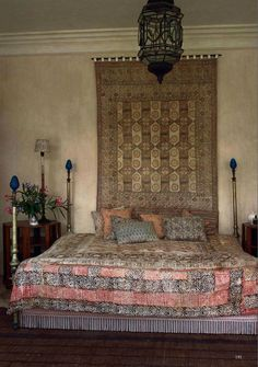 brass bed that is not hulky, bed skirt with fringe