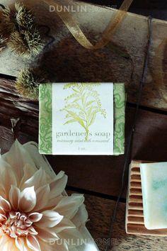Saipua NYC Olive Oil Soap. Gardeners.