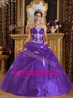 aa53e115969 Eggplant Purple Organza and Satin Quinceanera Dress with Appliques Burgundy Quinceanera  Dresses