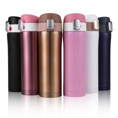 9.29$  Buy here - Keelorn 4 Colors Home Kitchen Vacuum Flasks Thermoses 450ml Stainless Steel Insulated Thermos Cup Coffee Mug Travel Drink Bottle   #buymethat