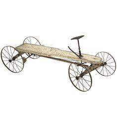 19thC American Toy Cart/Car