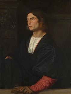 Titian | Portrait of a Young Man | L611 | The National Gallery, London, about 1515-20, National Gallery London
