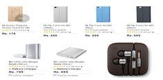 Xiaomi Mi3 accessories now available on Flipkart