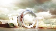 "Rotterdam is ""the city of the future"" say architects_Dutch Windwheel wind turbine"