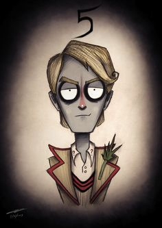 'Doctor Who' Illustrated In The Style Of Tim Burton - DesignTAXI.com