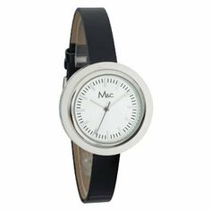 Womens Elegant Thin Strap Silver Round Face Watch M and C. $11.99. Save 80% Off!