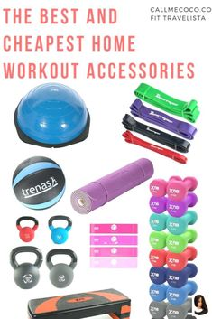 workout für zuhause Best home workout accessories Make the most of your home workouts with these accessories! Here's a round up of the best and cheapest pieces of home fitness equipment. Track Workout, Workout Guide, Workout Gear, No Equipment Workout, Home Fitness Equipment, Workout Outfits, Best Home Exercise Equipment, Gym Outfits, Gym Gear