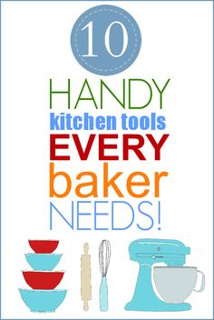 List of handy kitchen tools that will make your time spent in the kitchen easier and a lot more fun! | On Sutton Place