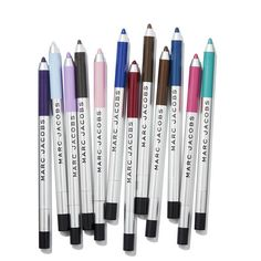 We have spring on our mind with Marc Jacobs Beauty's new colorful Highliner Matte Gel Eye Crayons