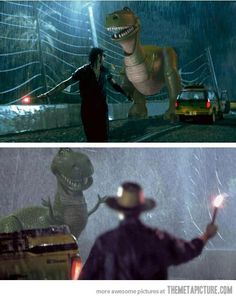 This would make Jurassic Park less terrifying!