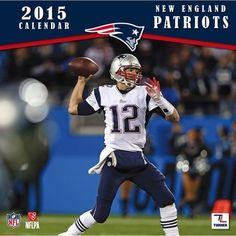 2015 Patriots Wall Calendar Nfl Calendar db5ef3748