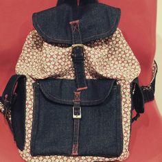 La primera mochila que hice...