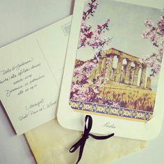 Dolce  gabbana fashion show invitation