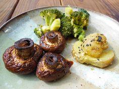 Avanti Cafe Musings: Simply Perfect Roasted Mushrooms
