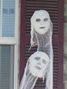 Come out when you're happy: Ghost Masks