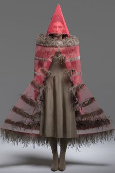 Maria Fernando Cardoso - this is fashion but looks like a shaman's costume to me.