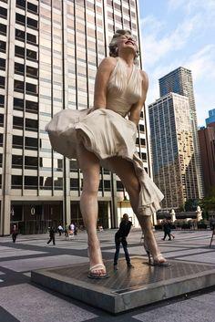 Marilyn Monroe in Chicago