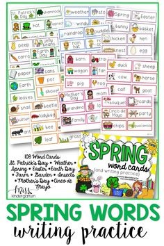 Introduce word cards through word work centers, literacy stations or guided reading groups. You can even use write the room worksheets for students to locate and spell the words or make it into a game!#spelling #versatile #misskindergarten