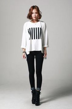 Relaxed fit Print Tee T-S