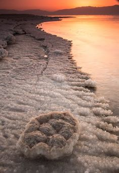 Sunrise at the Dead Sea, Israel