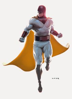 ryanlangdraws:  Space Ghost.  Ryan Lang bringing dead things...