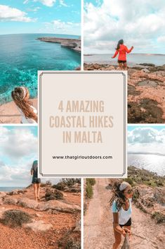 4 Amazing coastal hikes in Malta - That girl outdoors Malta Travel Guide, Europe Travel Guide, Travel Guides, Travel Tips, Cool Places To Visit, Places To Travel, Travel Destinations, Malta Beaches, Hiking Guide