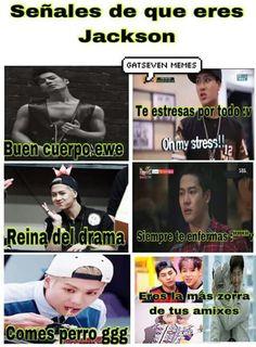 Mark Jackson, Jackson Wang, Yugyeom, Youngjae, Got7 Meme, Bts Memes, Funny Memes, Jinyoung, Jonghyun