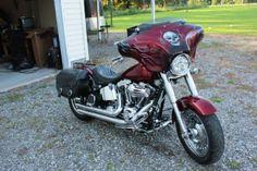 2009 Harley-Davidson FAT BOY Cruiser , Red Hot Sunglow, 21,000 miles for sale in Windsor, VA