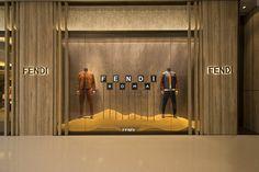 Fendi concept store, Hong Kong