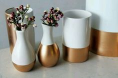Painted vases